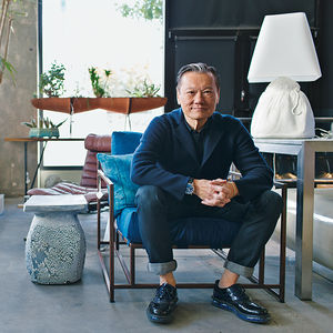 helping hands design leaders joel chen antiques portrait