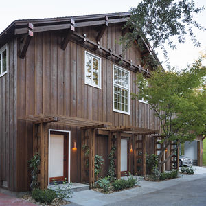 Historic barn renovation in Northern California