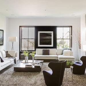 B&B Italia furniture in Boston renovation by Ruhl Walker Architects