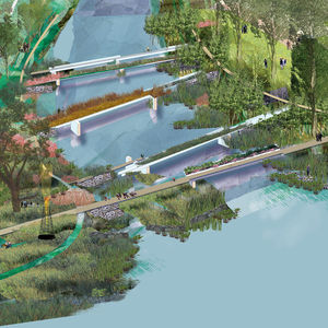 off the beaten path margie ruddick landscape architect wild design book trenton new jersey paths delaware river