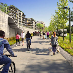 ryan gravel atlanta beltline park urban revitilization multiuse trails eastside trail