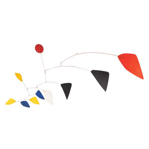 senses sight products kinetic wire sculpture alexander calder mobile