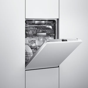 slim pickings streamlined kitchen appliances narrow dishwasher gaggenau lcd panel