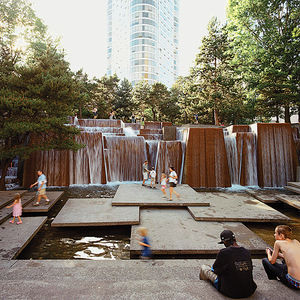 urban choreographer lawrence halprin landscape designer ira keller fountain portland