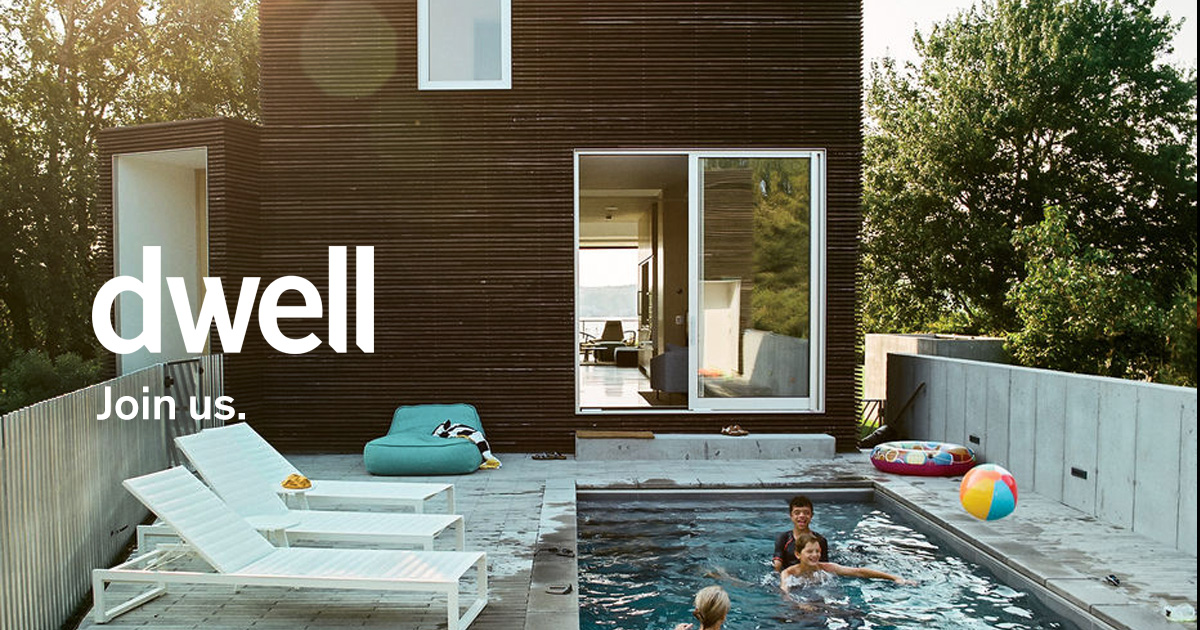 Dwell a community of architecture design lovers for California home and design magazine